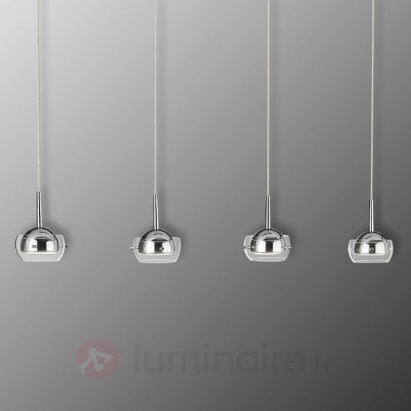Suspension LED Cypress à quatre lampes - Suspensions LED