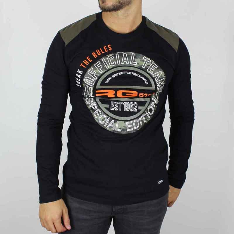 Wholesaler T-shirt licences RG512 men - T-shirt and polo long sleeve