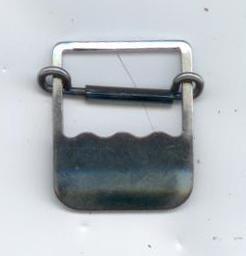 Boucle coulisse à dents (19 mm - Acier) - Fixation / Serrage