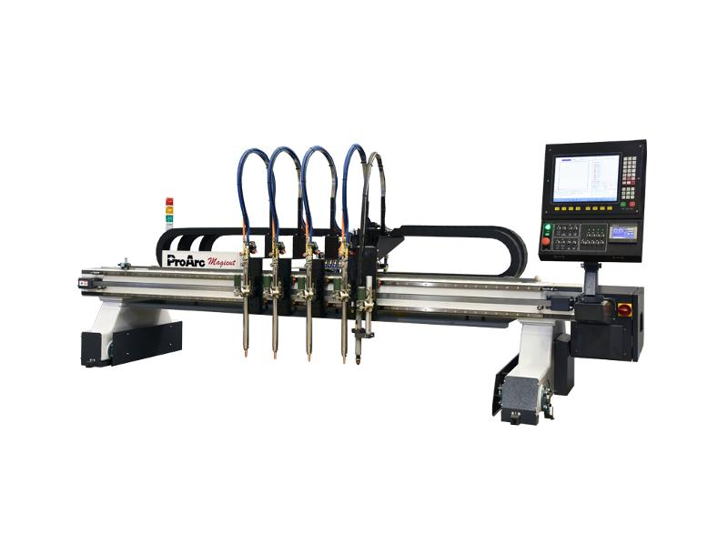 Light industrial CNC plasma, oxygen cutting machine - ProArc Magicut series- Gantry type
