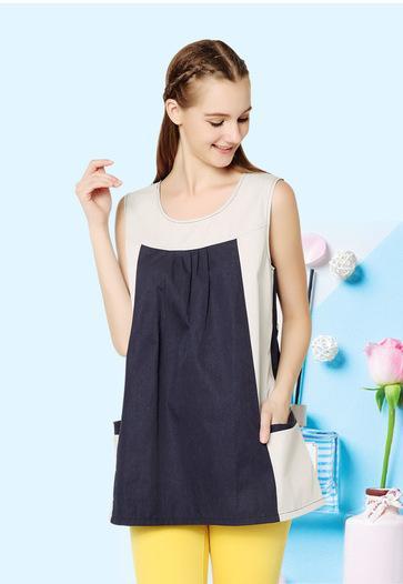 Damen-Kleid ,,Tricolor'' - null