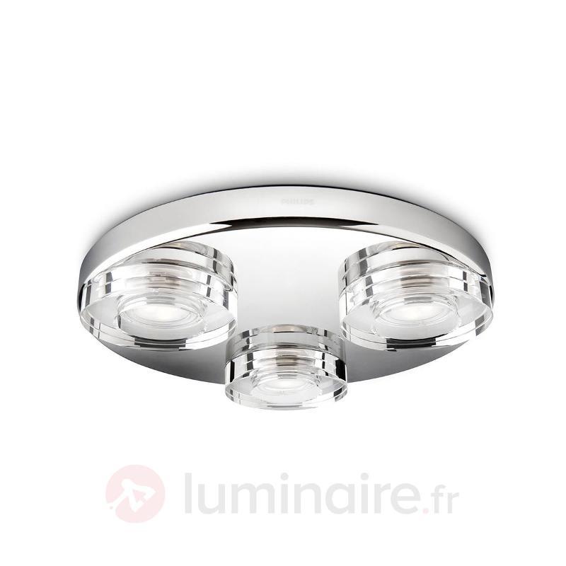 Plafonnier pour salle de bains LED Mira rond - Salle de bains