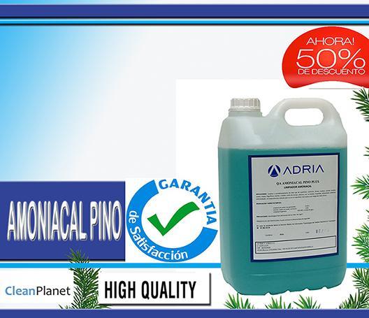 Amoniacal Pino Plus ahora al 50% de descuento