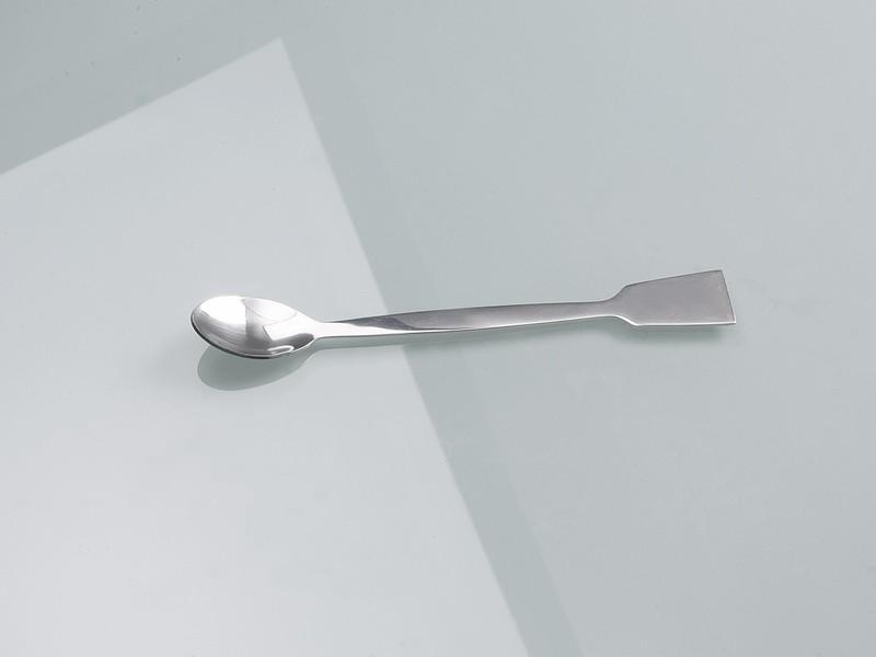 Spoon spatula stainless steel - Sampler, laboratory equipment, 180 mm or 300 mm length