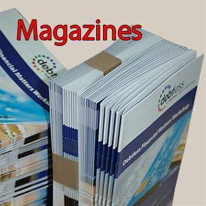 Magazines overnight - We print for example magazines, if needed we work overnight.