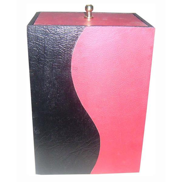 Leather Urn