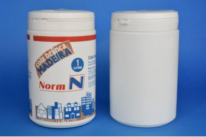 Boiões com tampa inviolável - Embalagens (de 125 a  2000cm3 )