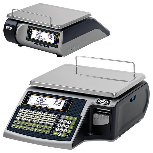 Serie Tornado - Balanzas electrónicas con impresora de tickets o etiquetas