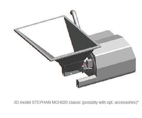 Affineur émulsionneur broyeur homogénéisateur - STEPHAN Microcut MCH20