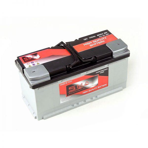 Batterie de démarrage pour voiture et véhicule léger 110 ah - Fabricant italien batteries de voitures