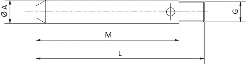 Zentrierbolzen - null