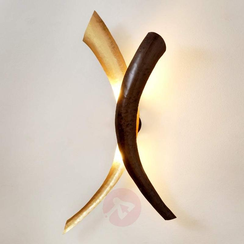 Appealing wall lamp Serpente Duetto - Wall Lights