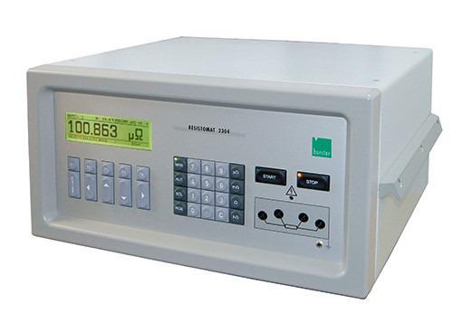 RESISTOMAT® 2304 高精度微欧姆电阻测试仪 - 高精度微欧姆电阻测试仪- RESISTOMAT® 2304