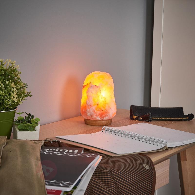Lampe de sel ROCK lumière apaisante 3 kg - Lampes de sel