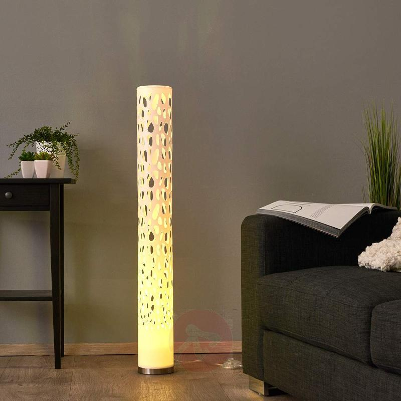 Decorative RGB LED floor lamp Alisea - Floor Lamps