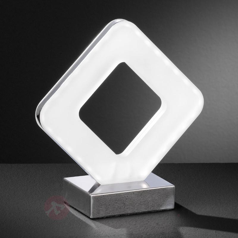 Lampe à poser de forme rectiligne Pori - Lampes à poser LED