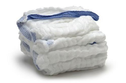 Laver le coussin de ventre - 100% fibre de coton faite de gaze de polyester, après dégraissage de blanchiment
