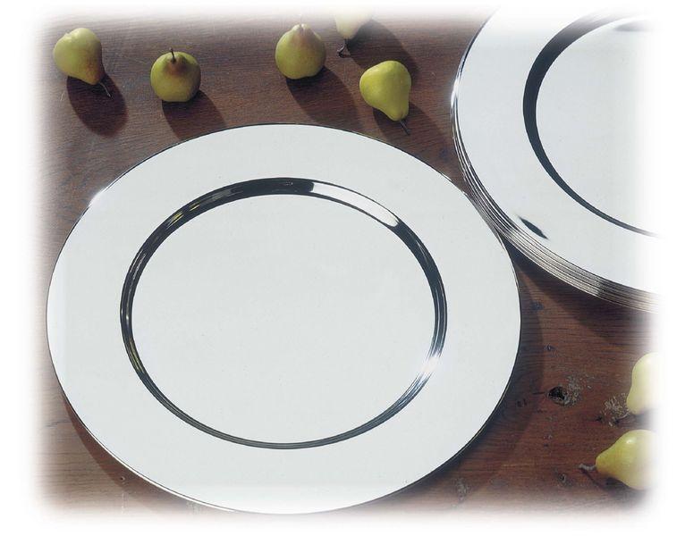 sous assiette argentés Lilli Elbe Design - HTD01