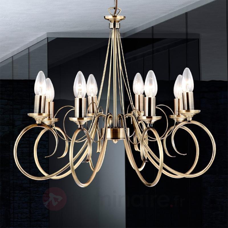 Suspension TRUNCATUS à 8 lampes - Suspensions classiques, antiques