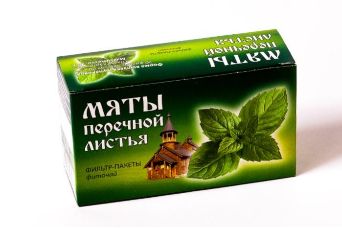Peppermint Leaves phytotea  -