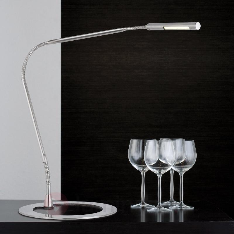 Lampe de bureau filigrane PLAZA - Lampes à poser LED