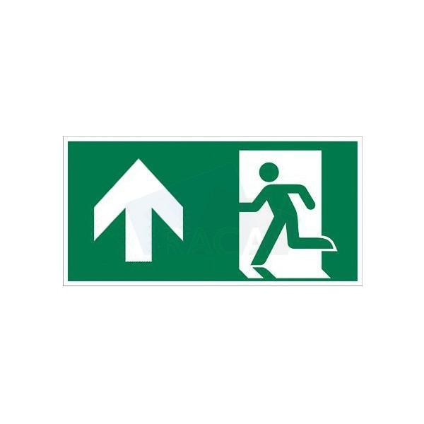 Taurac emergency lighting legend for exit sign  - E1D14501 /