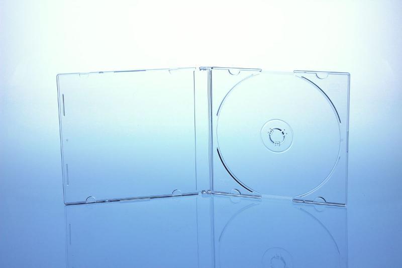 CD Slimcase - 5.2mm - transparent matt - bulkware - Slimcases & Maxiboxen