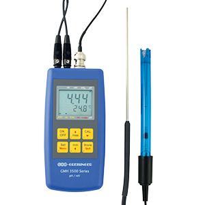 Units with switchable sensors - pH/Redox/temperature set GMH 3511-Set