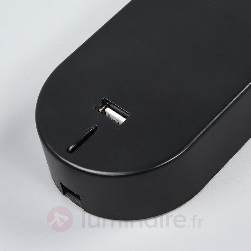 Applique LED réglable Enna avec port USB - Appliques LED