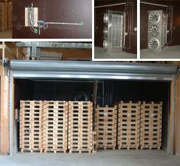 Fresh air - exhaust air dryer