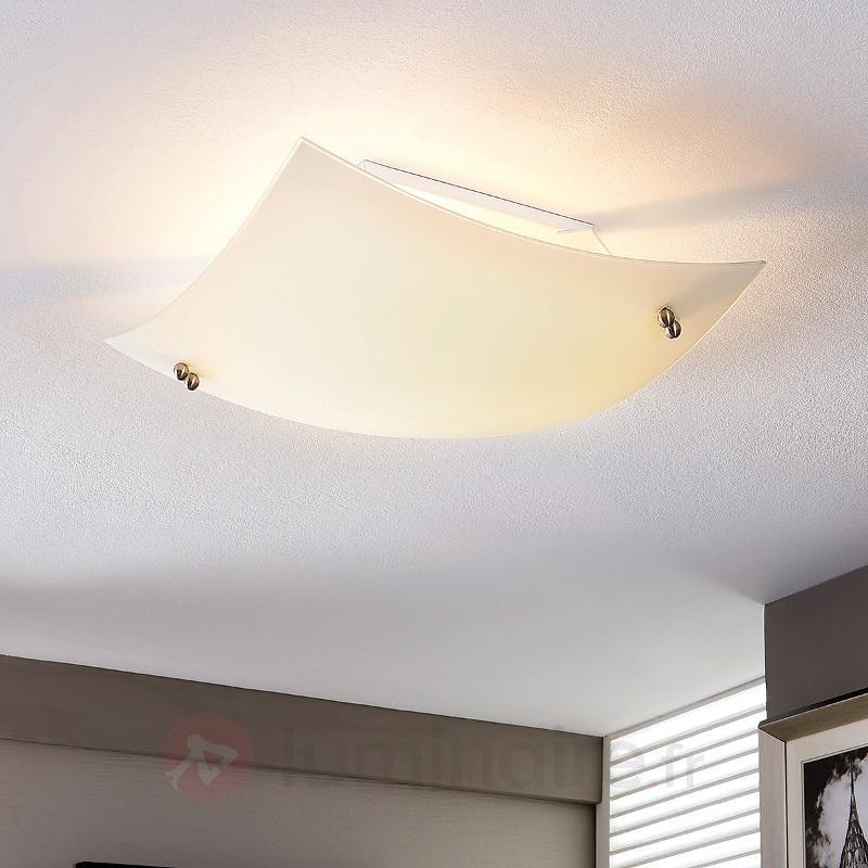 Plafonnier bombé Vinzent, E27 LED - Plafonniers LED