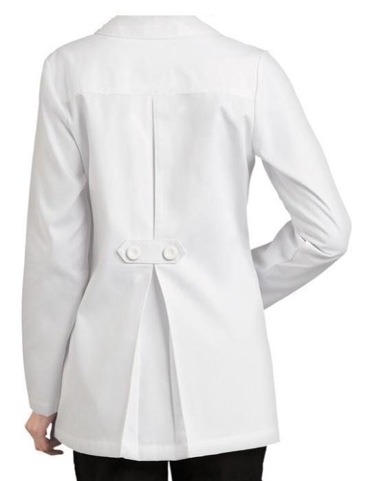 Uniform Hospital Long Sleeve Medical Women White Lab Coat  - Washable Hospital Long Sleeve Medical Women  White Lab Coat  Cotton or Polyester