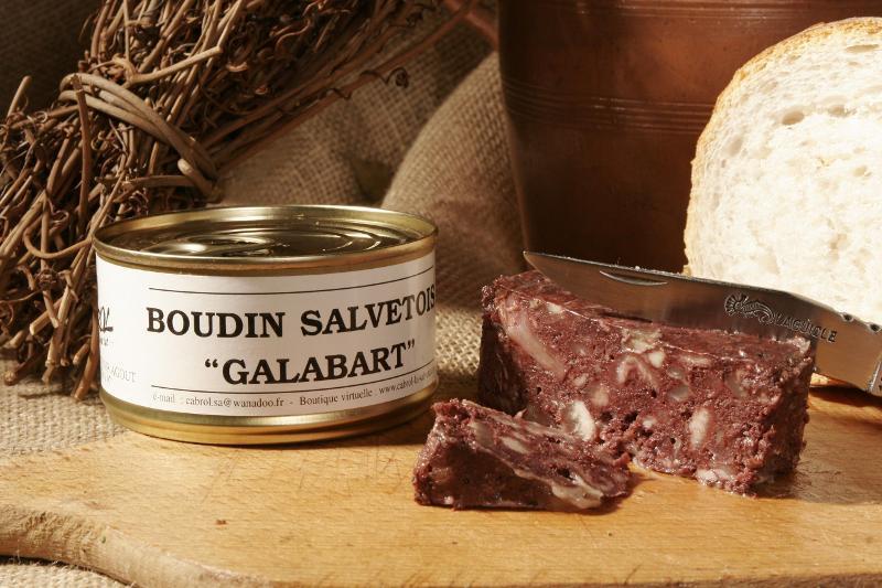 Boudin Salvetois galabart - Epicerie salée