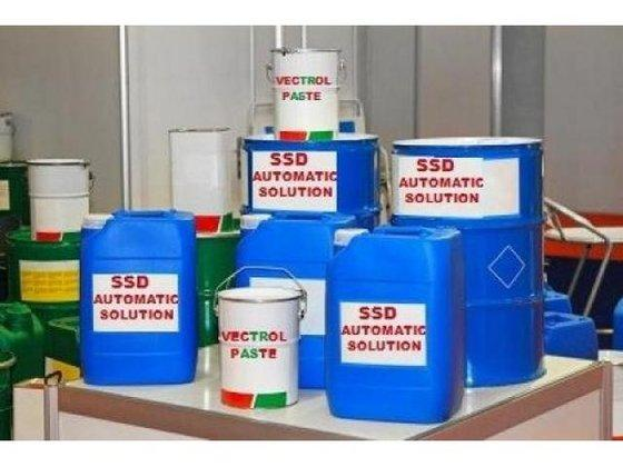CHEMICAL SSD SOLUTION FOR CLEANING BLACK DOLLAR, EURO AND P