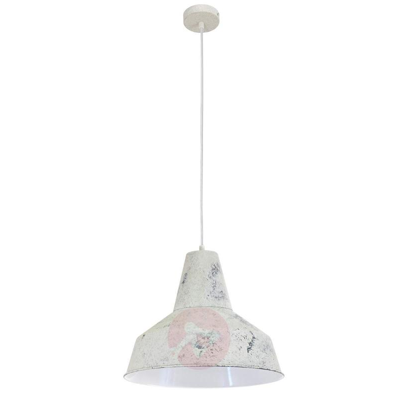 With a broad lampshade - Berenice hanging light - Pendant Lighting