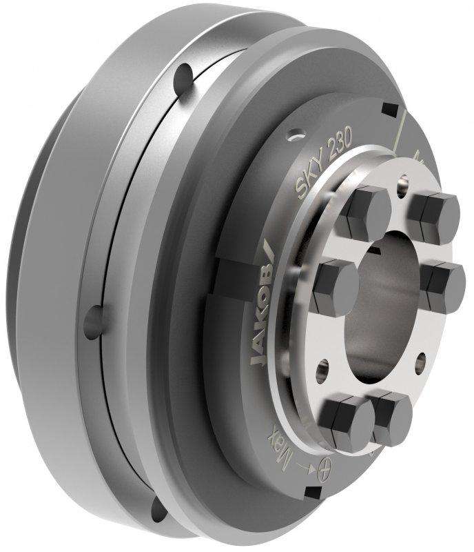 Safety coupling SKY - Safety coupling SKY with conical clamping hub