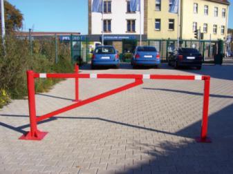 Barrier poles - Swiveling gates, Swing barrier, Swing barrier, Access barrier, Manual barrier
