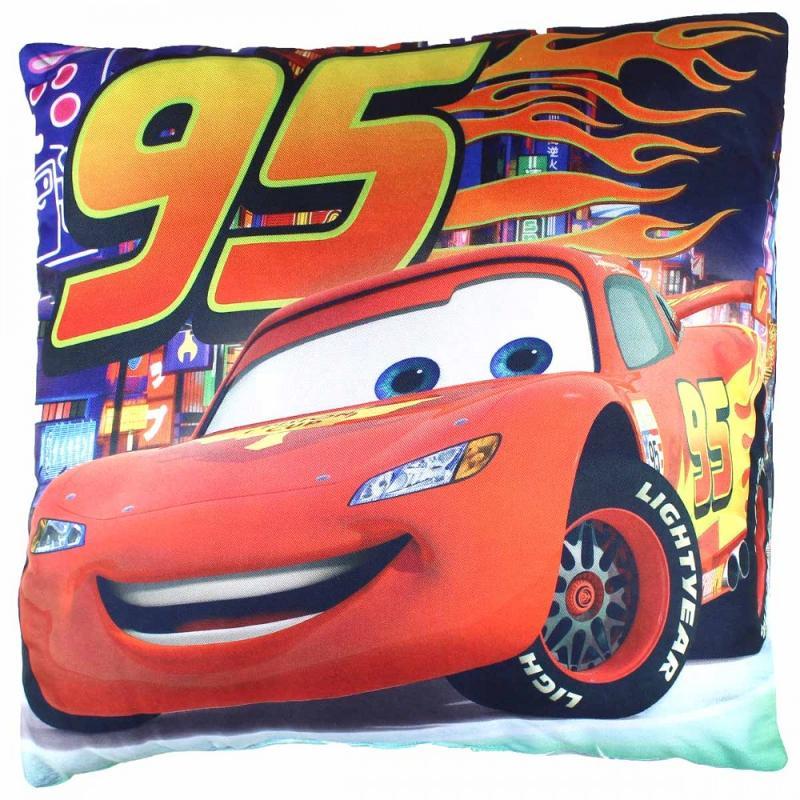 5x Coussins Cars 40x40 - Linge de maison