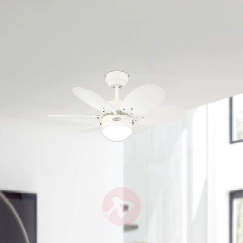 Turbo II ceiling fan with two sets of blades - fans