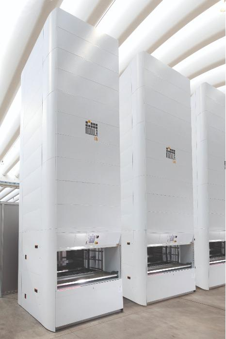 Modula Slim -  I vantaggi della tecnologia Lift nello spazio di un carosello verticale