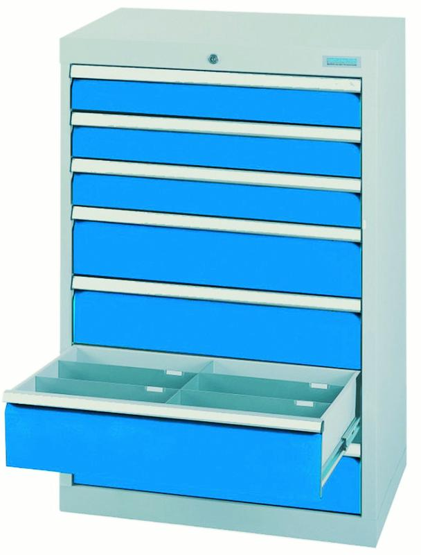 Drawer cabinet series T500-6 with 7 drawers, different... - 60.340A