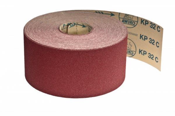 Schleifrollen für Holz / Fußboden, Lack / Farbe KP32C - Körnungen: P80, P100, P120, P150, P180