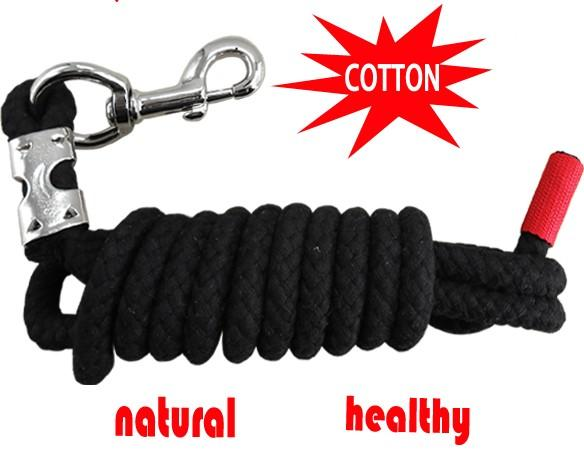 cotton horse lead rope,14MM thick cotton rope,100 gram  - horse lead rope,pet's lead rope,cotton material