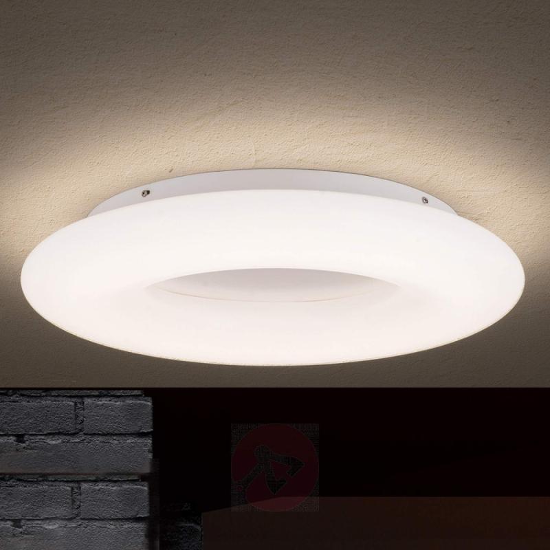 Ring-shaped Yana LED ceiling light - indoor-lighting