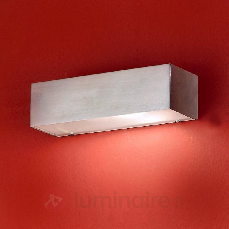 Applique d'extérieur rectangulaire DAWA - Appliques d'extérieur inox