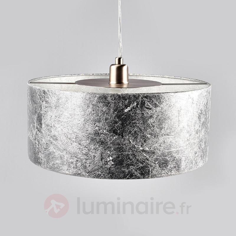 Suspension argentée Aura, diamètre 40 cm - Toutes les suspensions