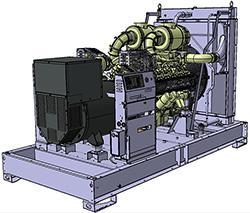 Groupes industriels standard - D600U