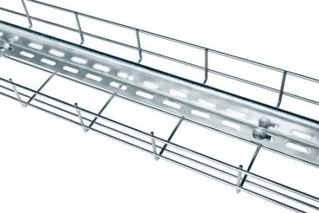 chemin de cable acier - Grilles et paniers métalliques