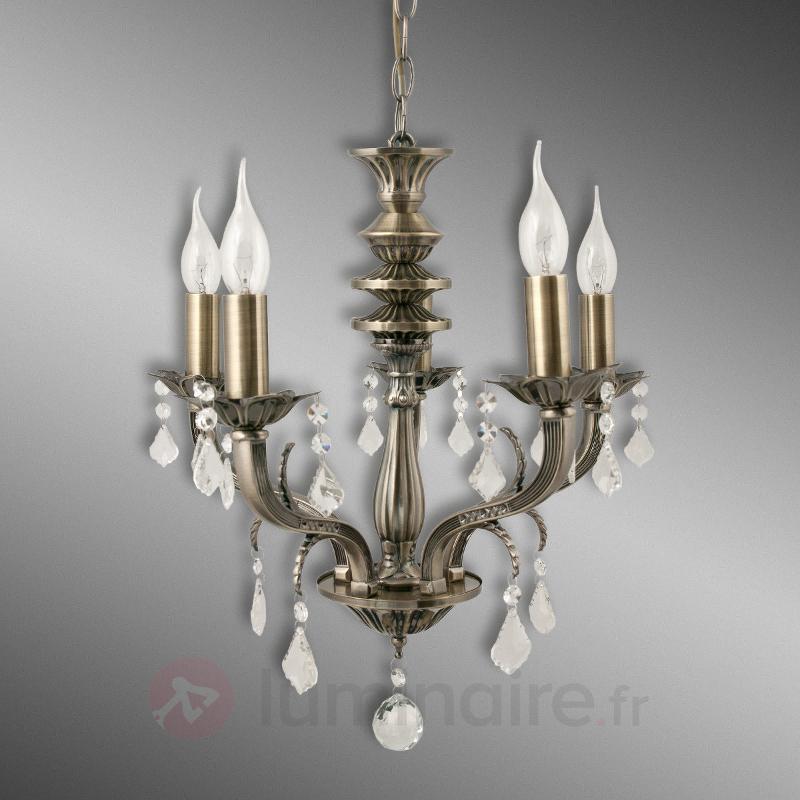 Superbe lustre Palazza, 5 lampes - Lustres classiques,antiques