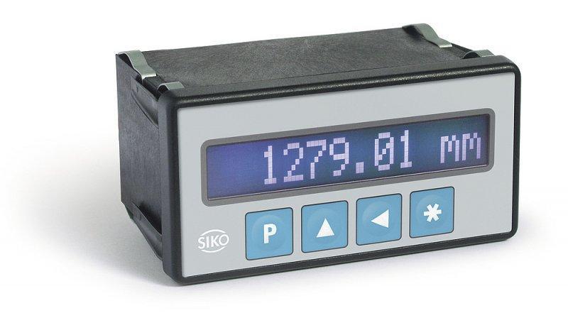 Messanzeige MA502 - Messanzeige MA502, LCD-Punktmatrix-Display, Anzeigengenauigkeit 10 µm